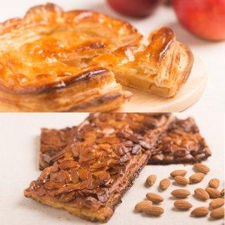 アップルパイとアーモンドパイのセット