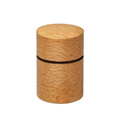 帯筒 茶筒(大)シルキーオーク