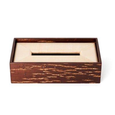 素箱 ティッシュケース かえで