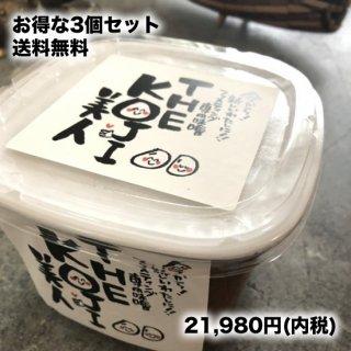 【お得な3個セット】入金確認後5日以内発送★楽しく美味しい味噌ファスティング専用ペースト THE KOJI美人 900グラム