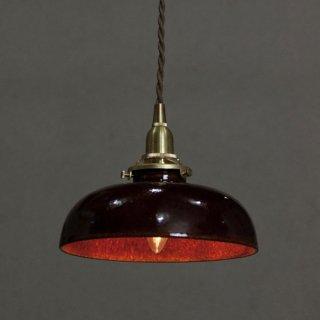 陶器シェードのペンダントライト