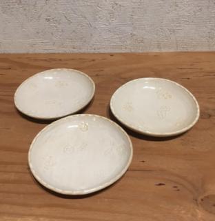 丸山可菜子 小花押型 とりわけ皿