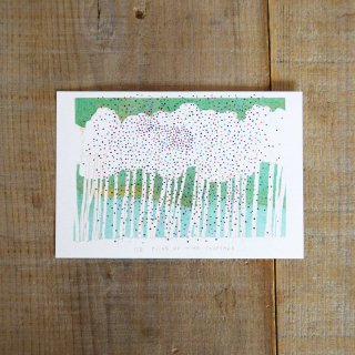 篠塚朋子 ポストカード〈木々〉