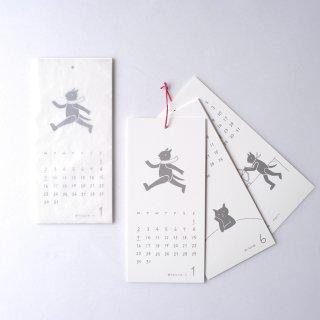 ノラヤ 2021年カレンダー 鳥ごよみ