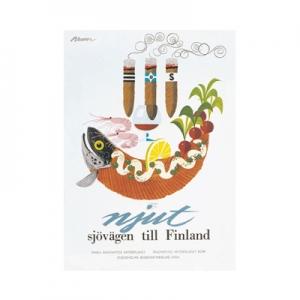 北欧レトロ トラベルポスター 35種