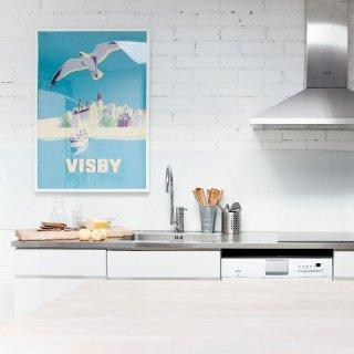 北欧ポスター「カムトゥスウェーデン!」ビンテージ旅行ポスター