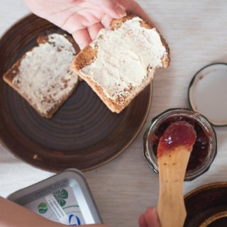 木製バターナイフ