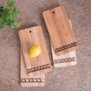 木製カッティングボード/まな板「北欧の動物モチーフ」4種
