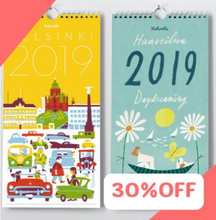 2019年フィンランドカレンダー 限定数