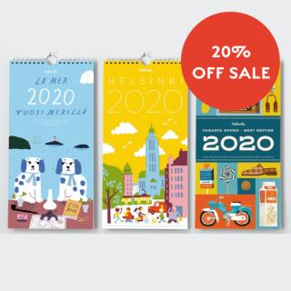 【20%オフ】フィンランドカレンダー「ケフボラ」2020年版