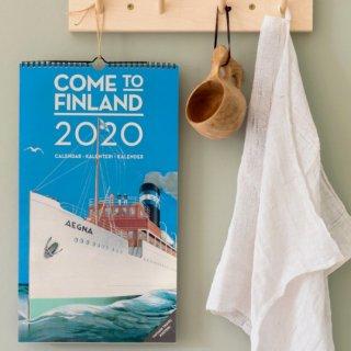 フィンランドカレンダー「カムトゥフィンランド」2020年