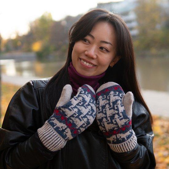 10クリスマス ギフト 北欧の手袋