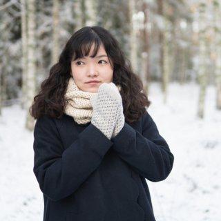 ウール手袋 by オイブロ家の手袋工場/Ojbrovantfabrik