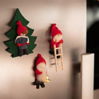 クリスマスマグネット「ブティッキ」