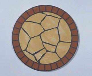 パターン目地 円形タイプ 2枚1組セット(四国化成)