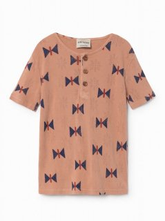 BOBO CHOSES (ボボショーズ)Butterfly Buttons T-shirt