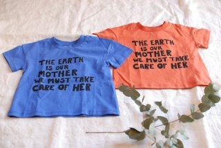 mini rodini(ミニロディーニ)Mother earth ss tee