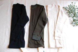 SOIL(ソイル)サーマル クルーネックTシャツ