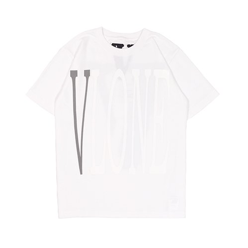 STAPLE T-SHIRT (WHITE/REFLECTOR&WHITEprint)
