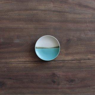 青い海小皿