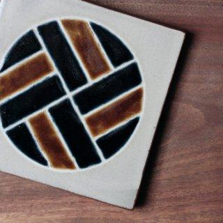陶板(丸紋)