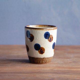 フリーカップ(点打:飴・コバルト)