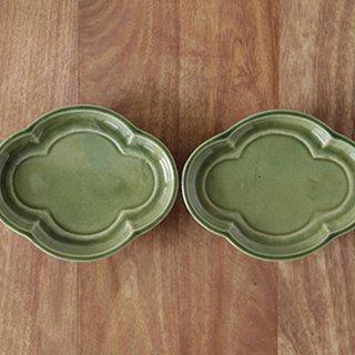 瓜皿(緑)
