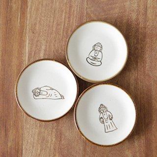 豆皿3点セット(大仏)