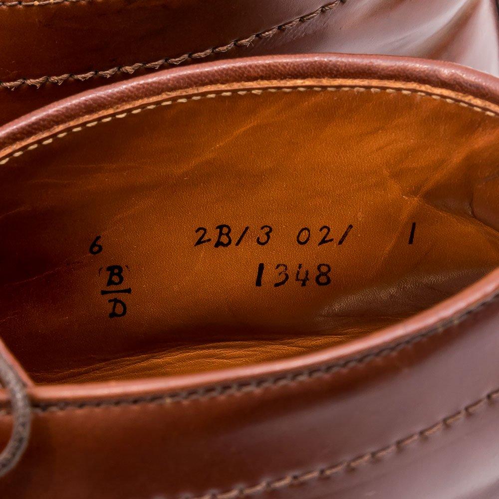 オールデン 1348 ウィスキーコードバン サイズ6D