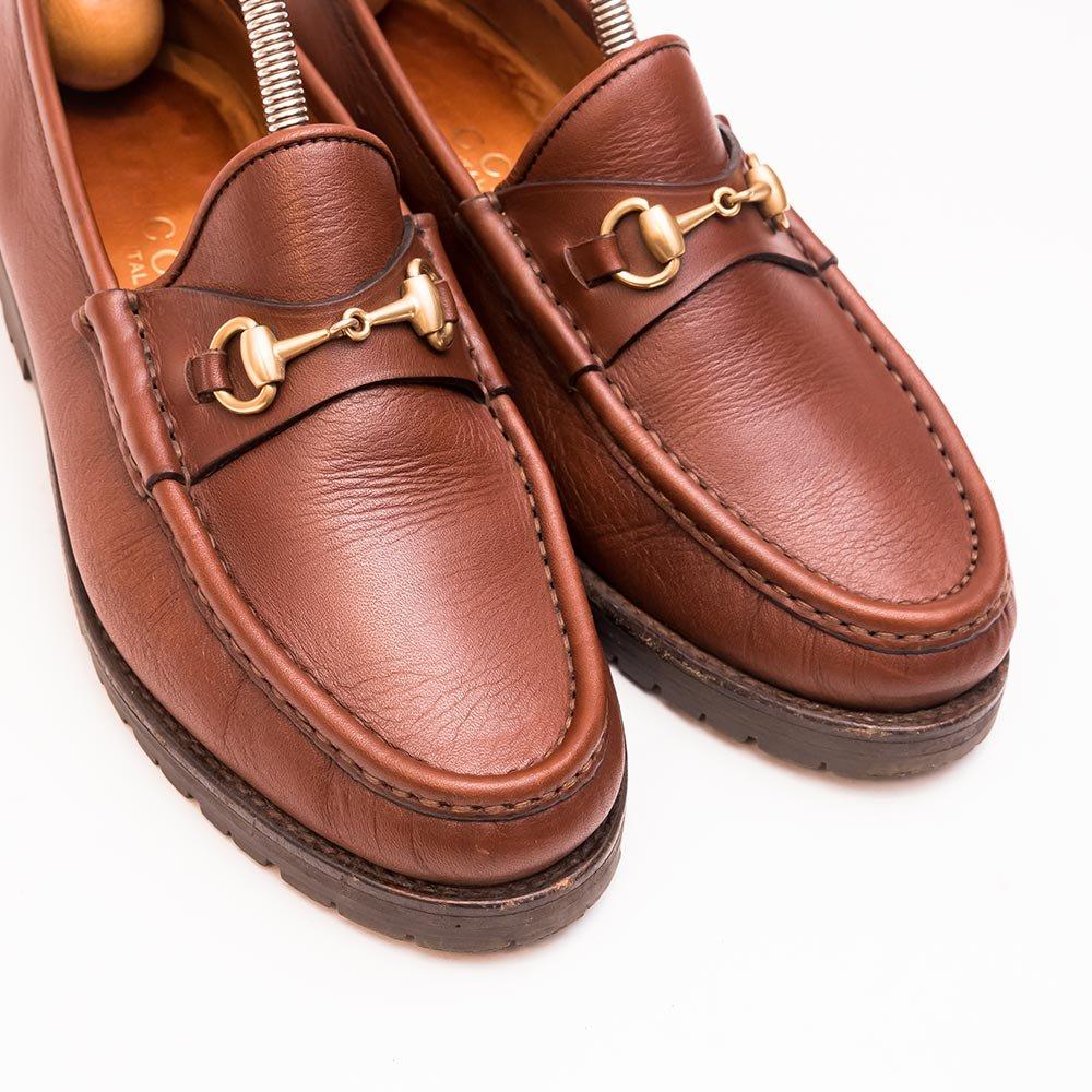 low priced eba86 220be グッチ ビットローファー ラバーソール サイズ3.5C - 中古革靴販売|革靴の通販ラスタイルシューズショップ