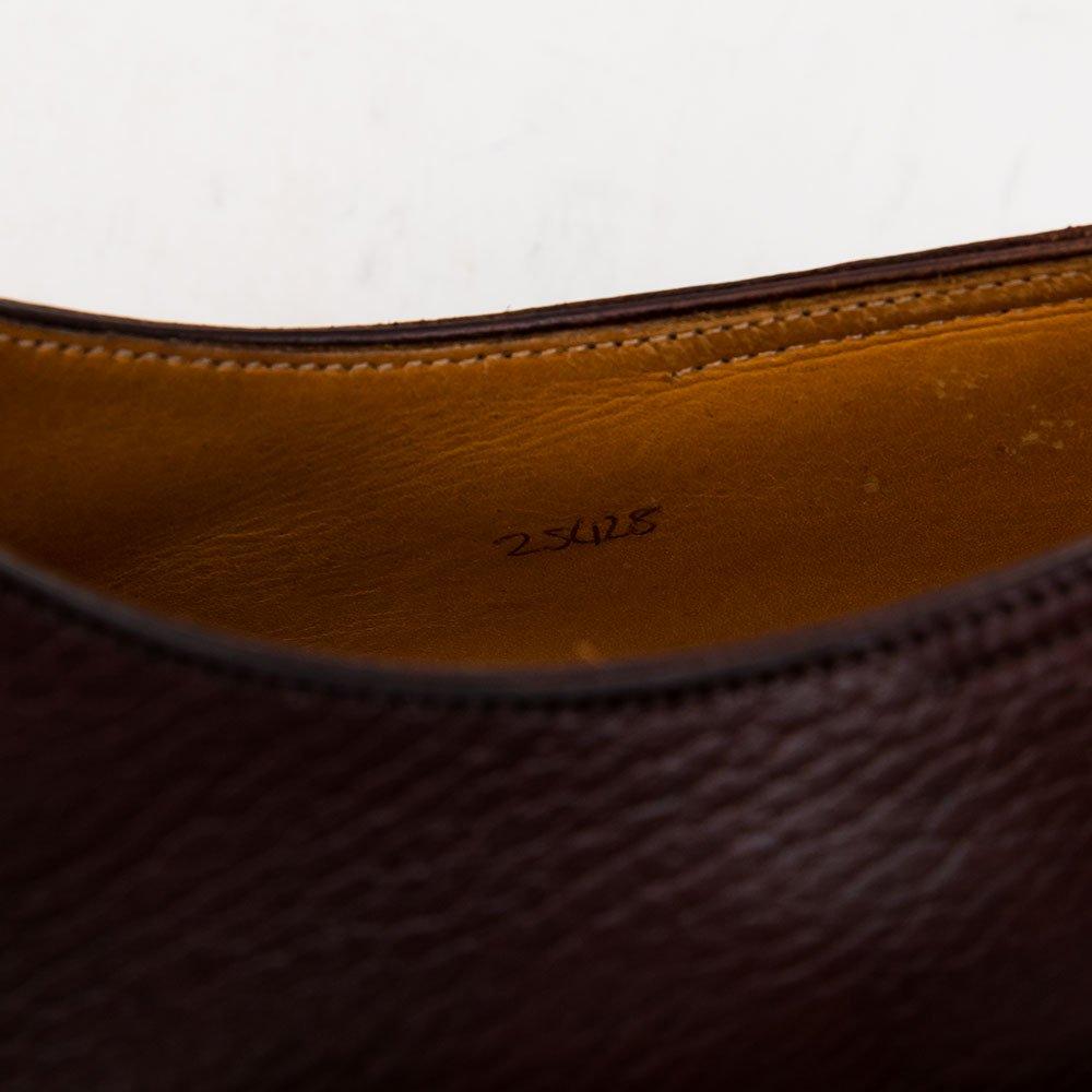ジョンロブ PERRIER(ペリエ)3アイレット グレインレザー ブラウン 純正ツリー付き サイズ9.5E
