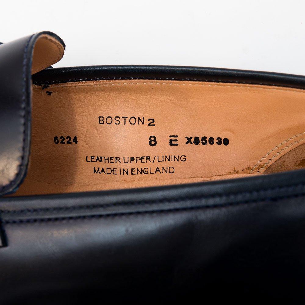 クロケット&ジョーンズ BOSTON2(ボストン 2) コードバン ネイビー ホーウィン社 ローファー サイズ8E