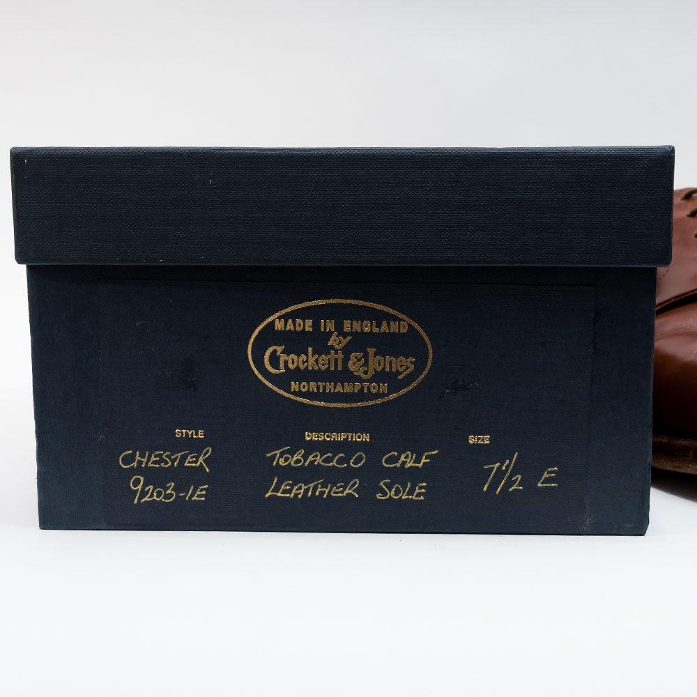 クロケット&ジョーンズ Chester(チェスター)タバコカーフ ハンドグレード サイズ8E