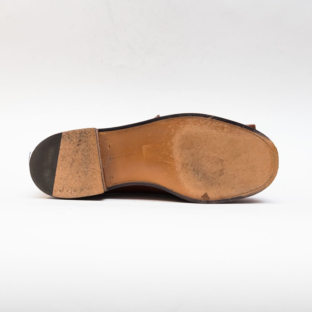 ジェイエムウエストン 180 ローファー ブラウン シューツリー付き サイズ5.5C