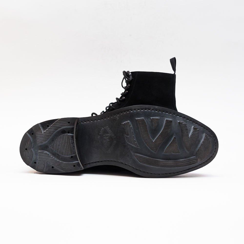クロケット&ジョーンズ CONISTON �【コニストン2】ブラック ブーツ スエード サイズ6D
