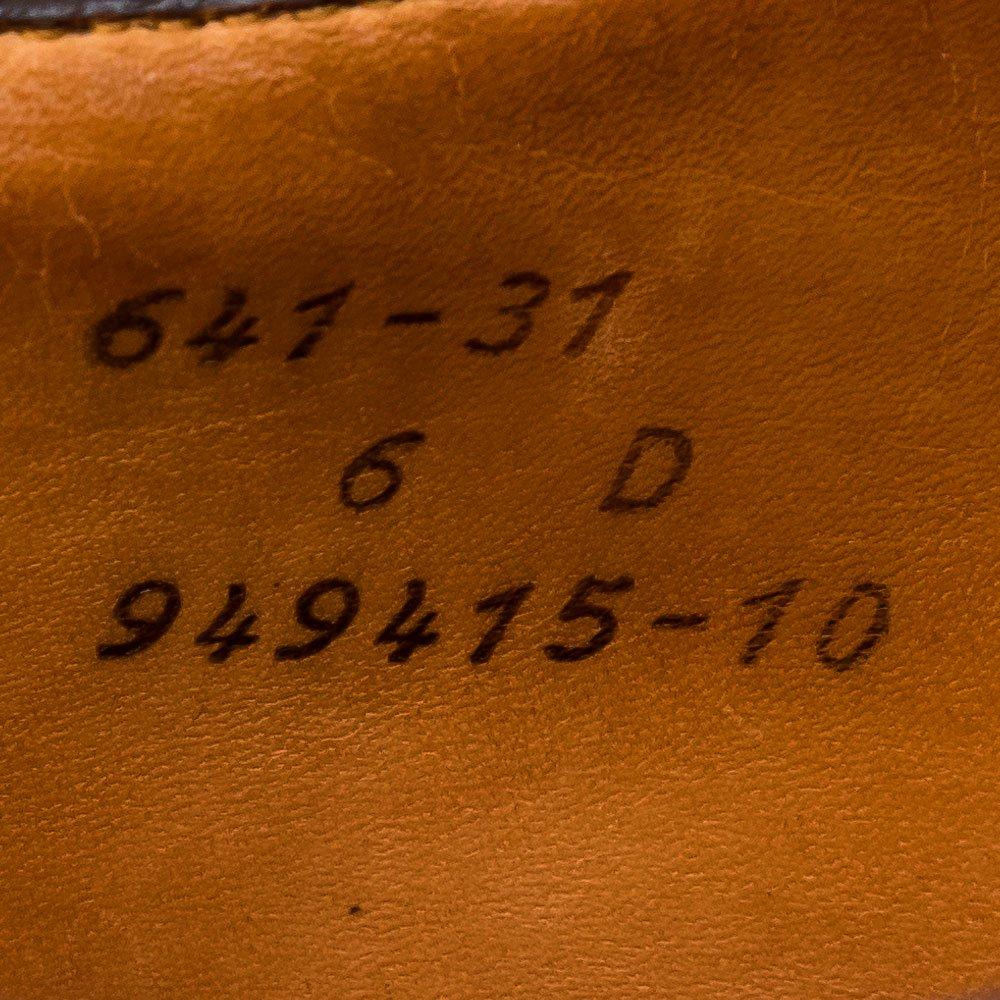ジェイエムウエストン 641  GOLF 【ゴルフ】ブラウン スエード サイズ6D