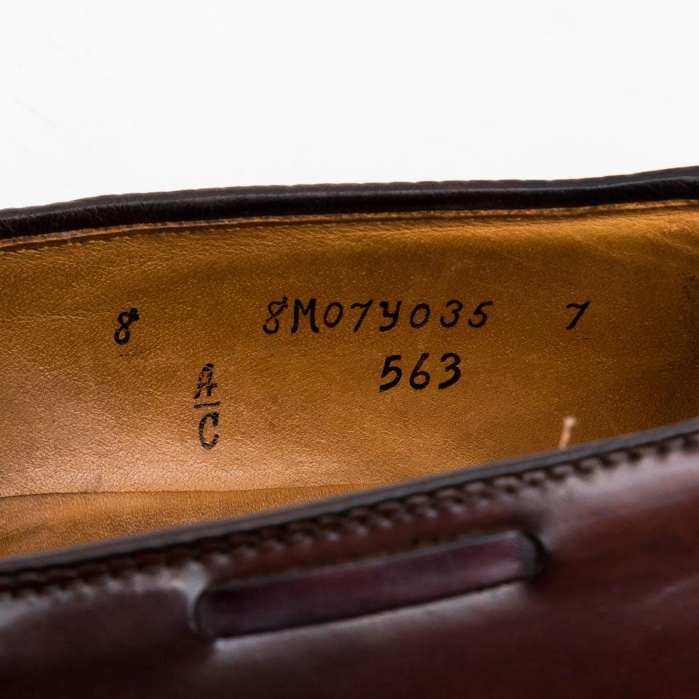 オールデン 563 タッセルローファー コードバン バーガンディ サイズ8C