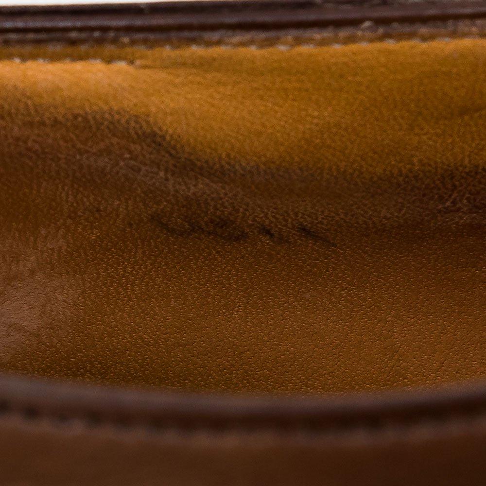 ジョンロブ Grosvenor【グロウナー】メダリオン キャップトゥ セミブローグ ブラウン 8695ラスト サイズ9E