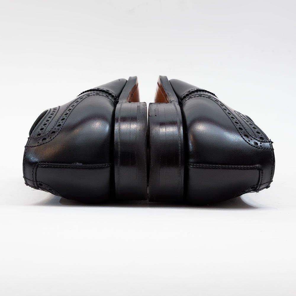 クロケット&ジョーンズ Conventry(コベントリー)セミブローグ ブラック 341ラスト サイズ5.5E