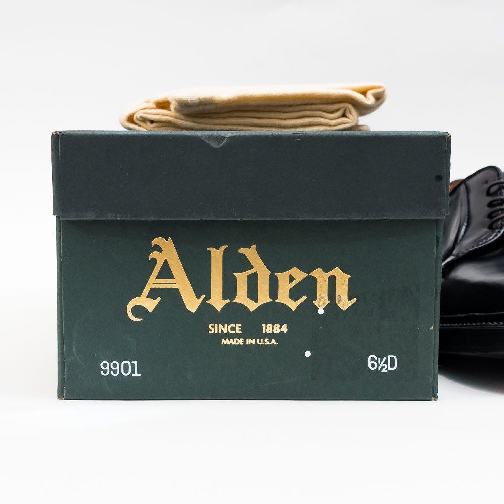 オールデン 9901 プレーントゥ コードバン ブラック beams 別注 サイズ6.5D