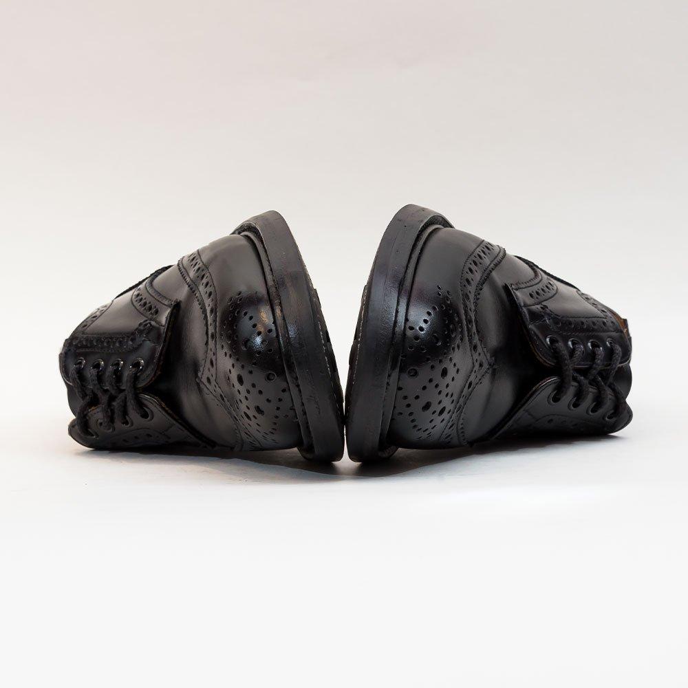 トリッカーズ M5633 バートン ウィングチップ ブラック サイズ6.5Fitting5