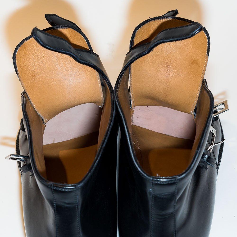 エンツォボナフェ ART.3939 ダブルモンク ブーツ サイズ7.5