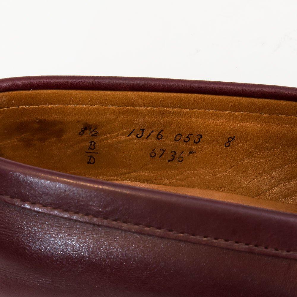 オールデン 6736 コインローファー BEAMS別注 カーフ バーガンディ サイズ8.5D