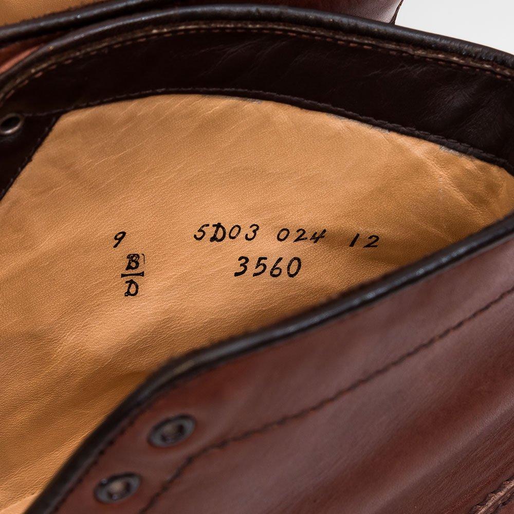 オールデン 3560 MICHIGAN BOOTS【ミシガンブーツ】 UTICA【ユティカ】 サイズ9D