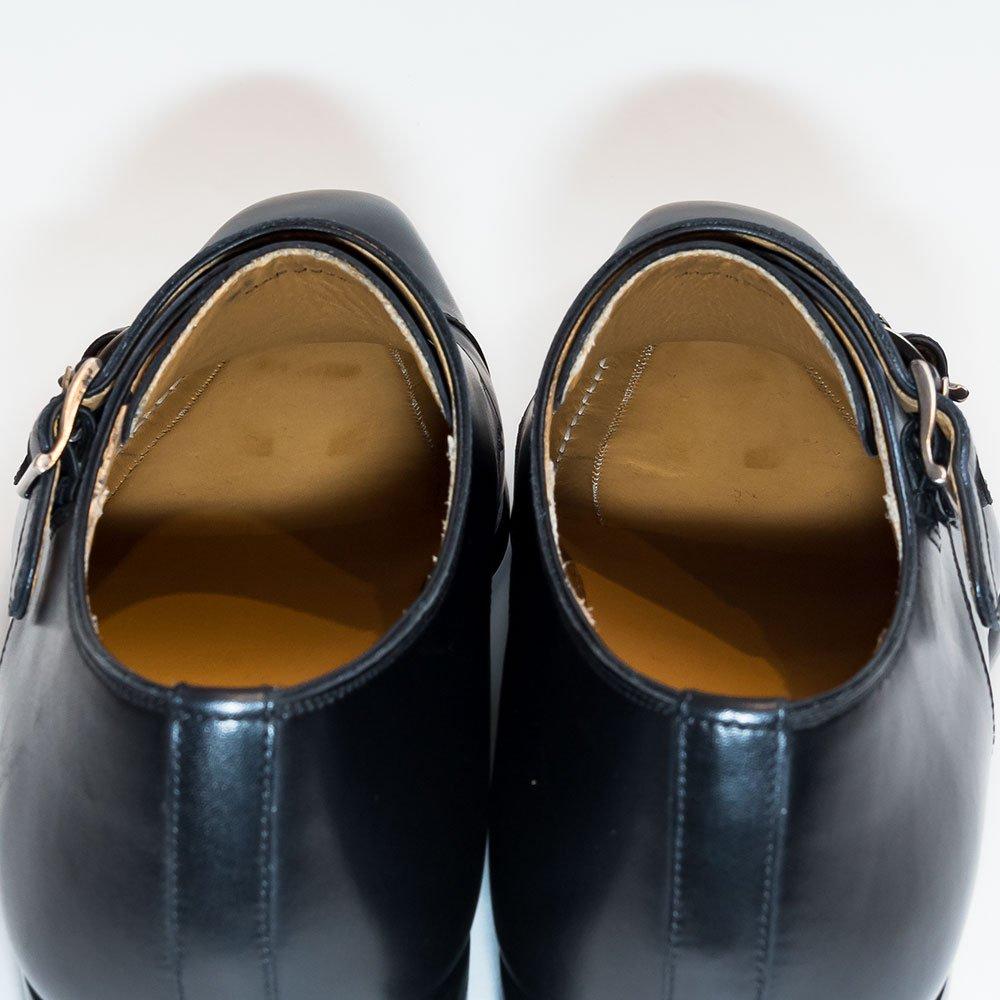 マグナーニ ダブルモンク ブラック  サイズ40