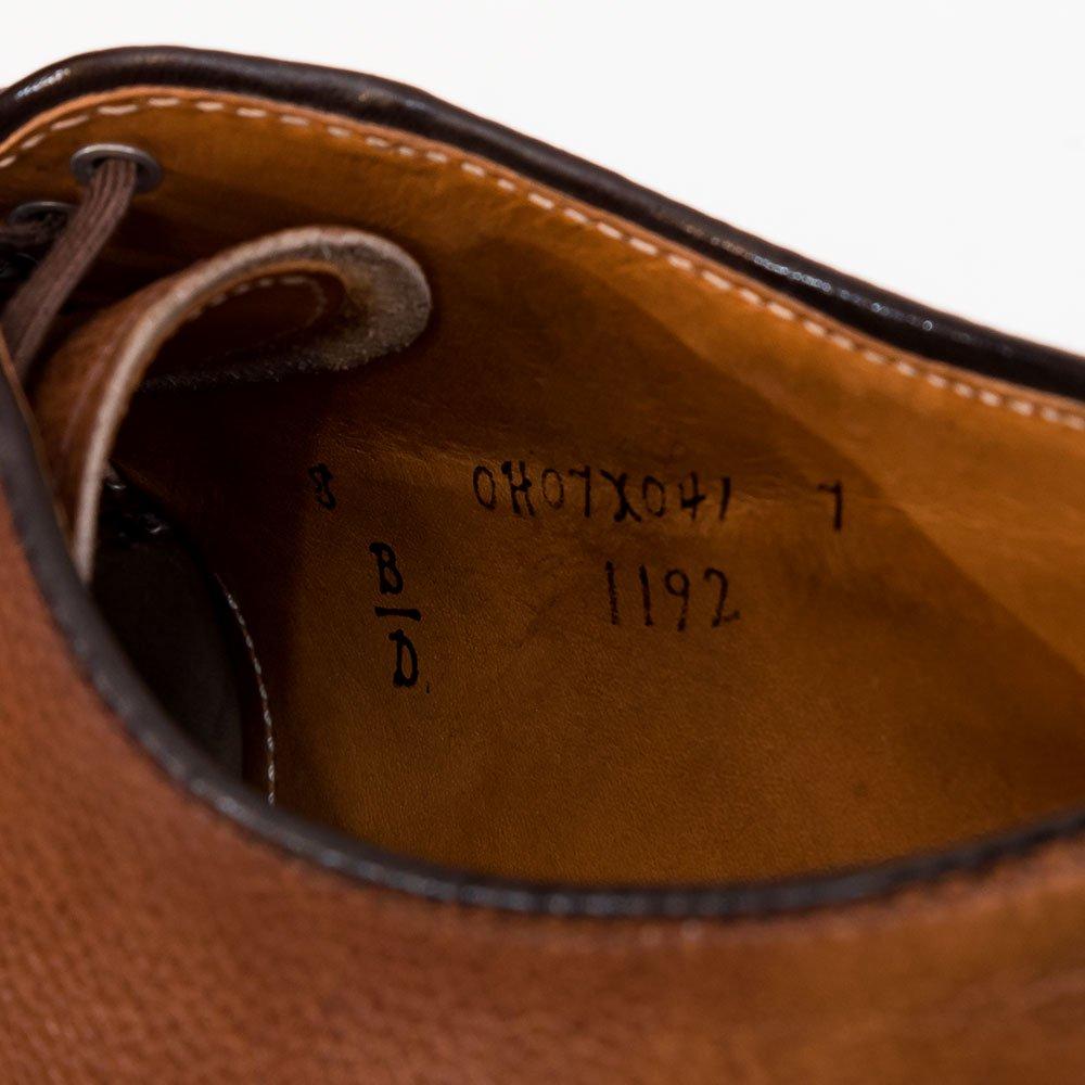 オールデン 1192 Uチップ アルパインカーフ スプリットトゥ サイズ8D
