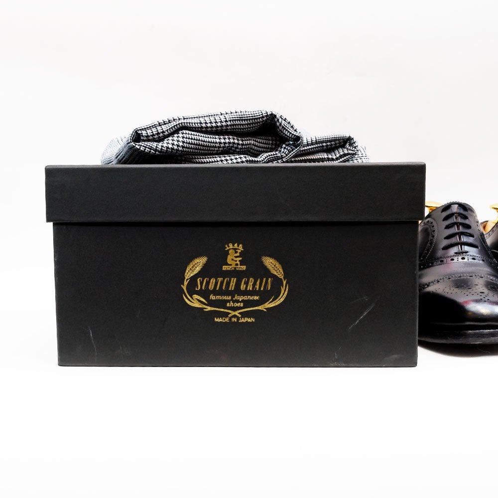 スコッチグレイン 960BL インペリアルIII 内羽根 セミブローグ 直営店限定 サイズ25.5