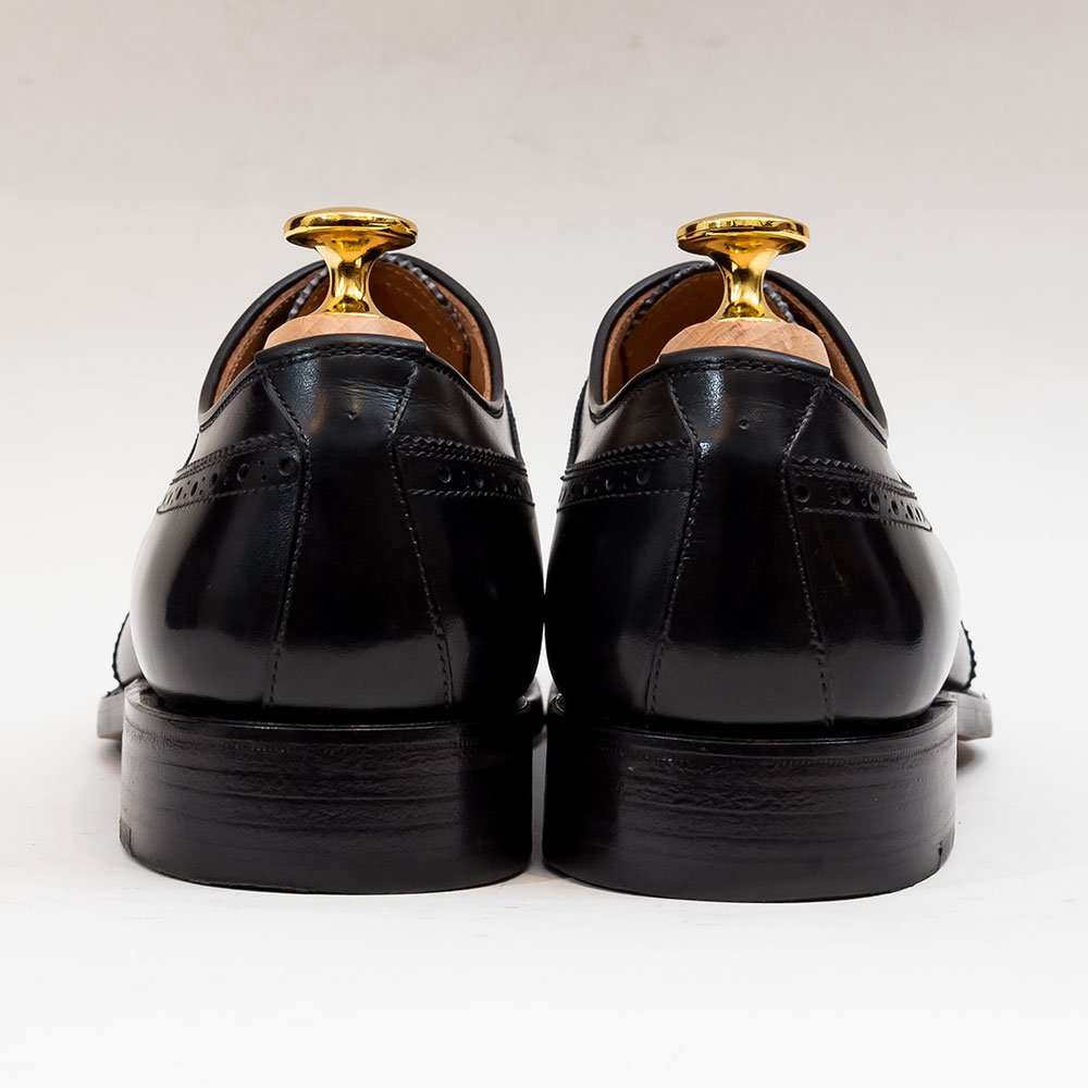 スコッチグレイン 956BL セミブローグ ブラック 純正シューツリー付 サイズ23.5EEE