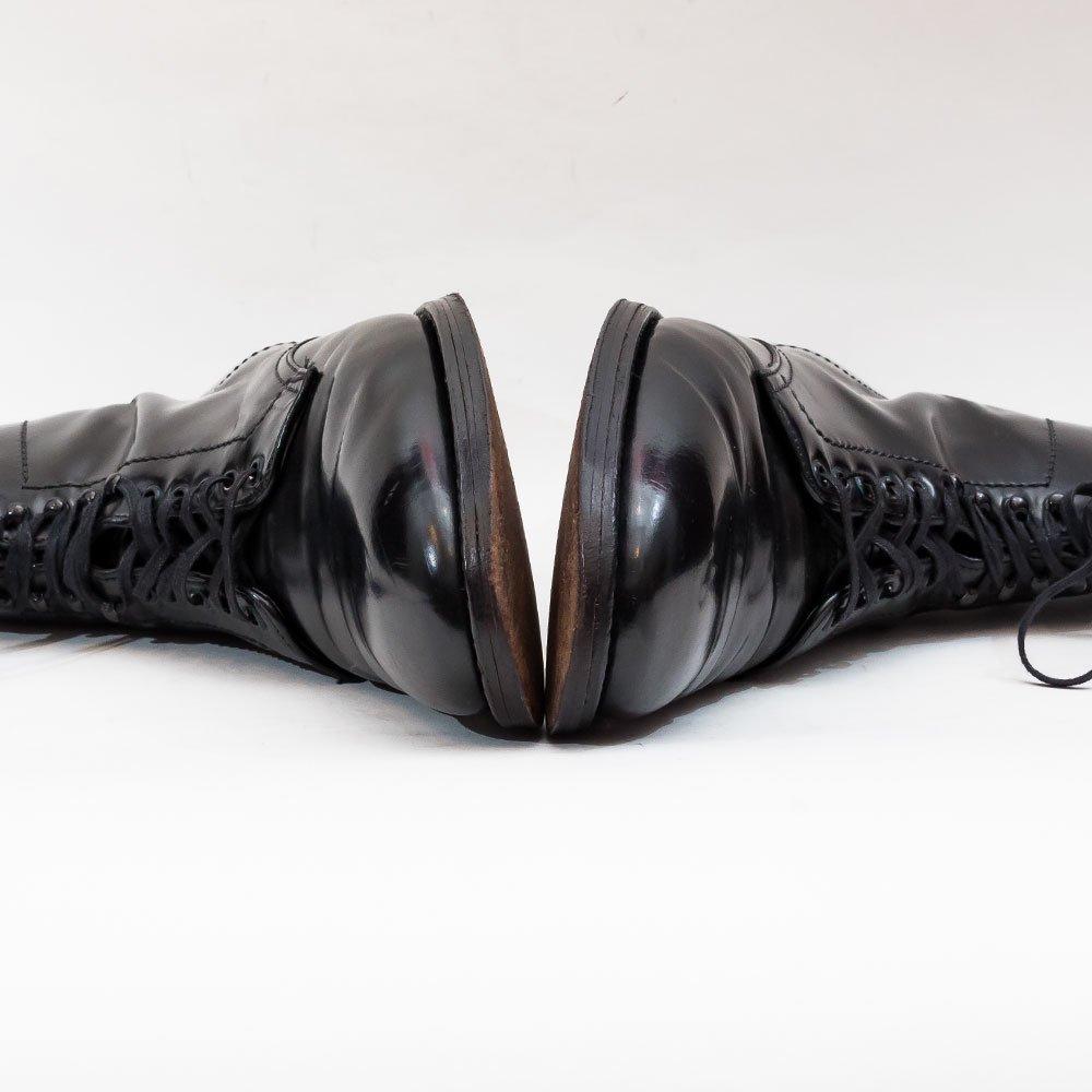 オールデン 4562H モディファイドラスト コードヴァン プレーントゥブーツ ブラック サイズ10C