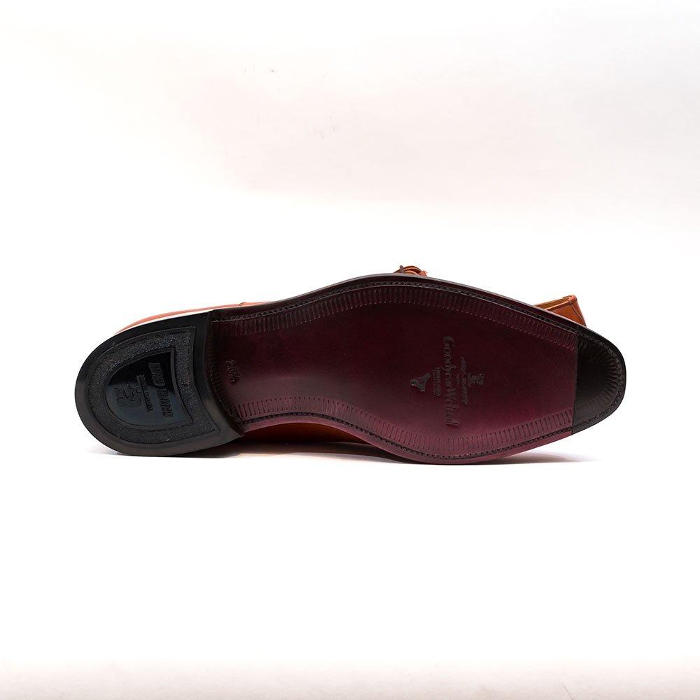 スコッチグレイン 916 オデッサ ストレートチップ ミディアムブラウン アノネイ サイズ26.5
